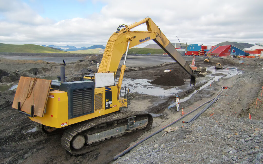 Red Dog Mine Tailings Dam Raise Stage VII, IX, and X Slurry Wall