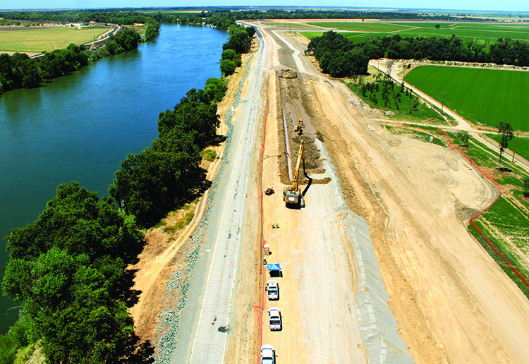 Forgen Selected for Natomas Basin Levee Improvement Project in Sacramento, California